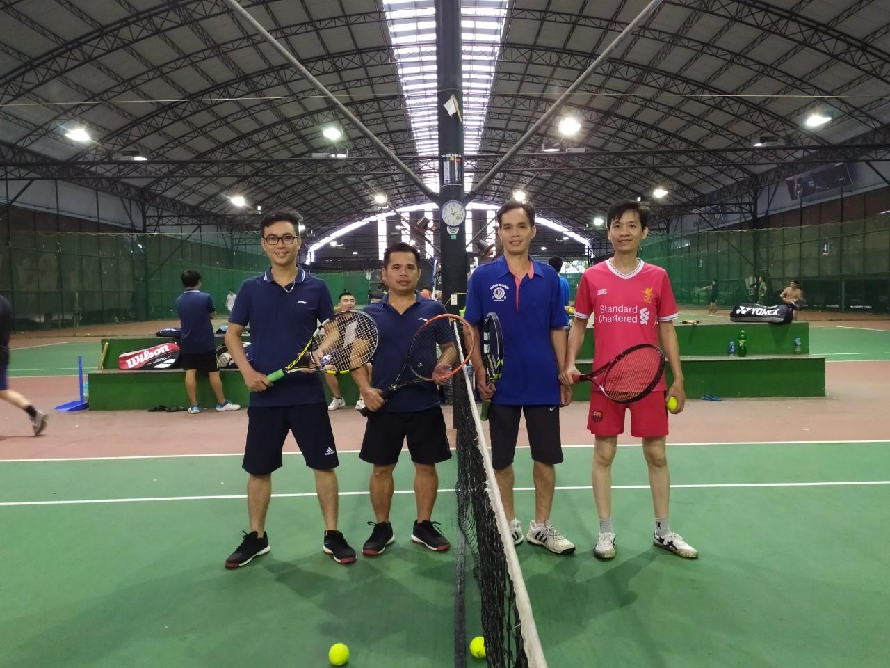 Giải Tennis mở rộng năm 2019 - Khoa Cơ khí