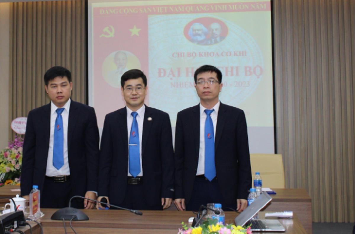 Đại hội Chi bộ khoa Cơ khí nhiệm kỳ 2020-2023