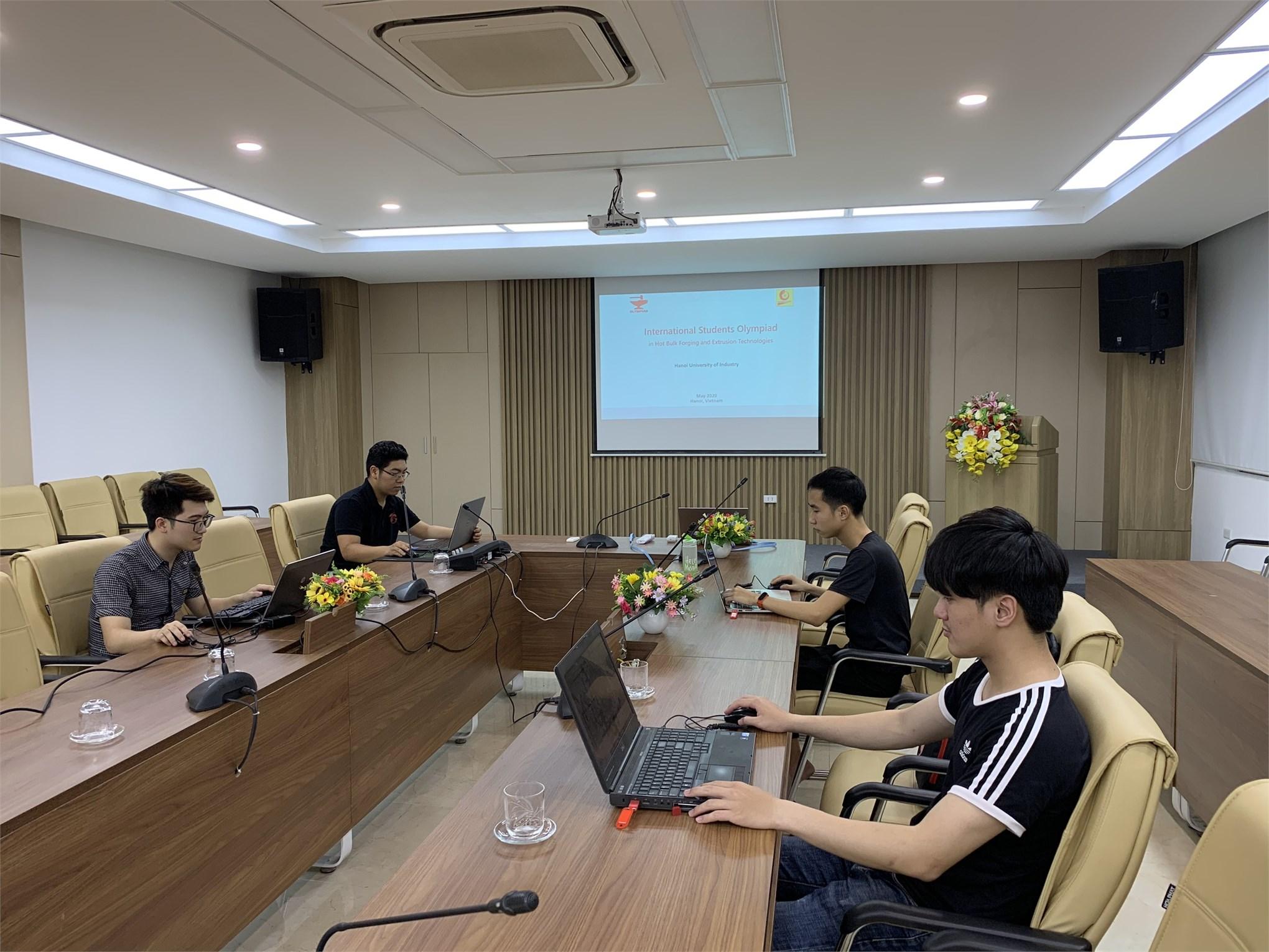 Hành trình tham dự kỳ thi Olympiad quốc tế về công nghệ dập nóng và đùn nhôm của 04 sinh viên khoa Cơ khí - Trường Đại học Công Nghiệp Hà Nội