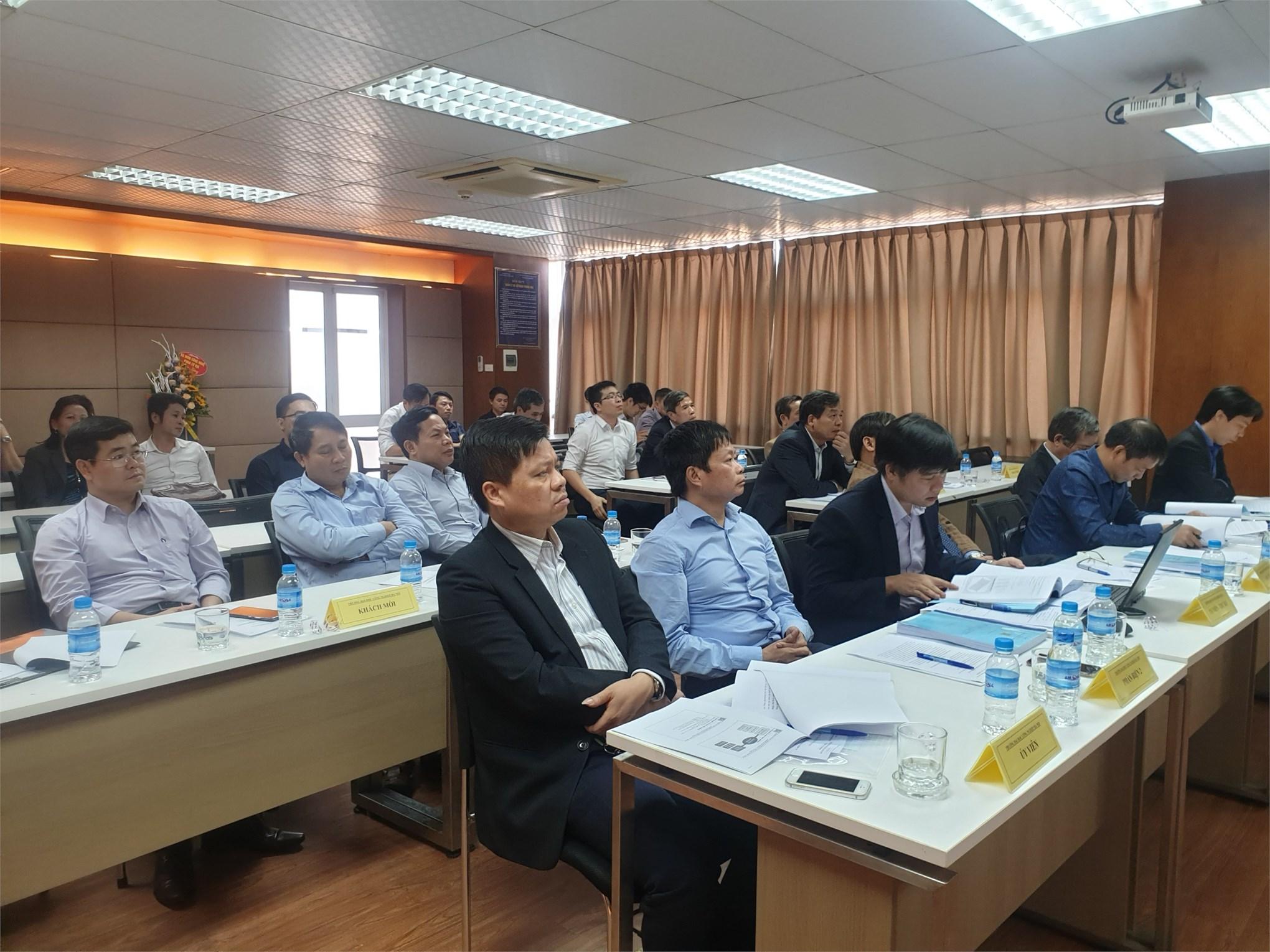 Đánh giá luận án tiến sĩ cấp cơ sở chuyên ngành Kỹ thuật cơ khí cho Nghiên cứu sinh Nguyễn Trọng Mai