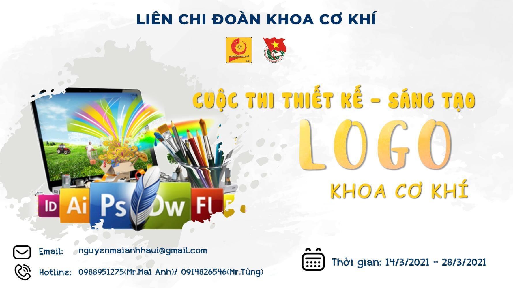 Tổ chức cuộc thi Thiết kế mẫu biểu trưng ( Logo) khoa Cơ khí