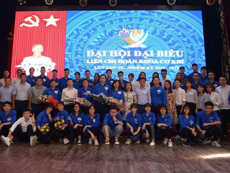 Đại hội Đại biểu Liên chi đoàn khoa Cơ khí lần thứ IX, nhiệm kỳ 2019-2022