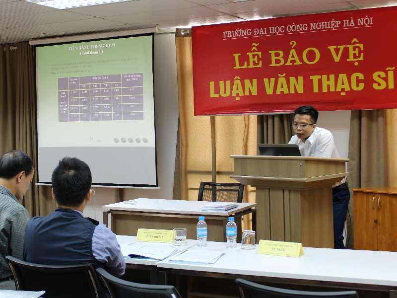 Lễ bảo vệ luận văn thạc sĩ chuyên ngành CNKT Cơ khí khóa 7 T10/ 2019
