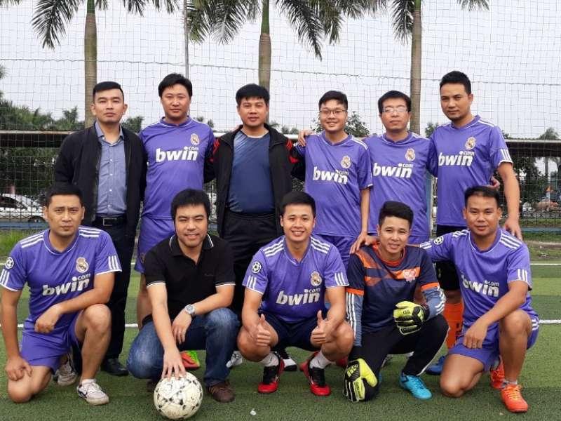 Đội bóng khoa Cơ khí - Trường Đại học Công Nghiệp Hà Nội giành cúp vàng giải bóng đã giao hữu các Khoa/Viện Cơ khí lần thứ 2