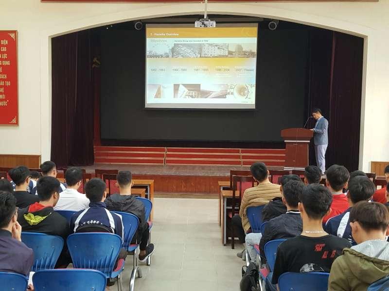 Cơ hội thực tập, việc làm cho sinh viên khoa Cơ khí