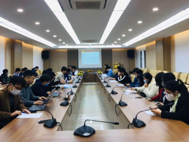 Báo cáo Hội nghị khoa học cấp khoa năm học 2019-2020