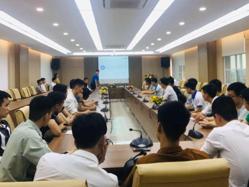 Hội thảo chương trình tuyển sinh lớp kỹ sư tài năng của công ty O-OKA GIKEN Nhật Bản dành cho sinh viên trình độ đại học khóa 12 - Khoa Cơ khí