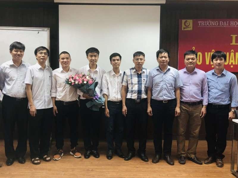 Lễ bảo vệ luận văn thạc sĩ ngành Cơ điện tử và ngành Kỹ thuật Cơ khí khóa 8 đợt 1 năm 2020