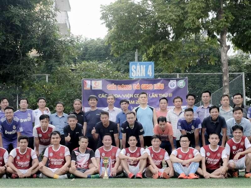 Giải bóng đá giao hữu lần thứ 3 giữa Khoa/viện Cơ Khí năm 2020