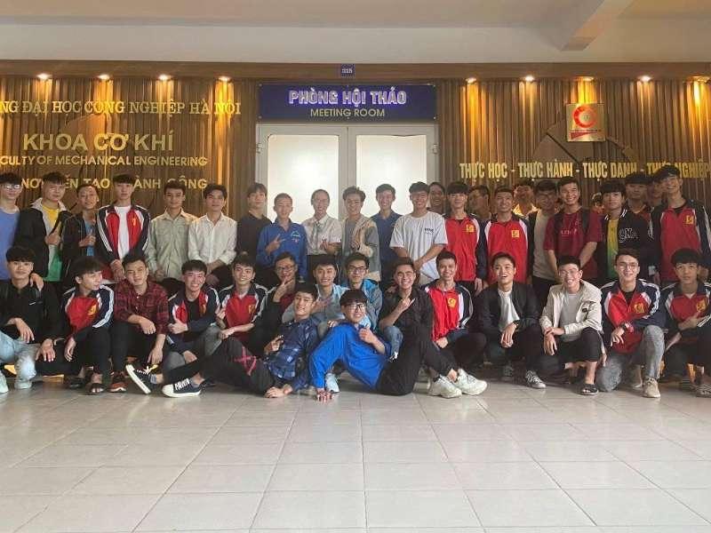 Đại hội Chi đoàn Đại học K14 Khoa Cơ khí