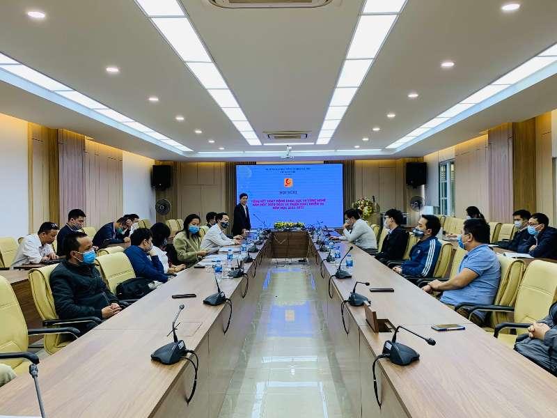 Hội nghị tổng kết hoạt động khoa học và công nghệ năm học 2020-2021 và triển khai nhiệm vụ năm học 2021-2022